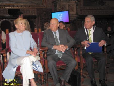 Betty Williams, Frederik de Klerk, Oscar Arias Sanchez