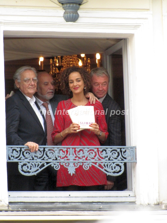Bernard Pivot, Tahar Ben Jelloun, Leila Slimani, Antoine Gallimard